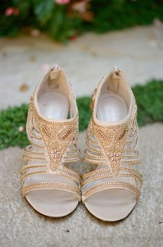 Wedding Day Shoes Worth Showing Off - Style Me Pretty Wedding Heels, Wedding Girl, Wedding Blog, Shoe Gallery, Dress Hairstyles, Leather Chain, Bridal Shoes, Outfit, Me Too Shoes