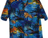 Men's XL Hawaiian Shirt by Uluwatu 100% Polyester
