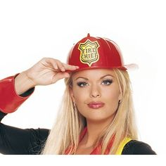 Fireman Hat - Fire Girl Hat