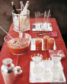 Blood-Orange Punch is a non-alcoholic Holiday treat #Christmas #Holidays