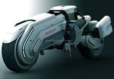 Honda concept chopper electric motorcycle