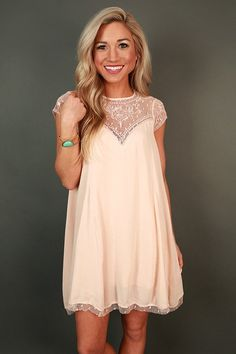 Romance in Venice Shift Dress in Nude Source by shopimpressions Dresses Preppy Dresses, Grad Dresses, Cute Dresses, Vintage Dresses, Casual Dresses, Cute Outfits, Formal Dresses, Cute Fashion, Fashion Outfits