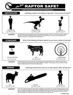 Raptor Safety Checklist. I am putting this up at work.