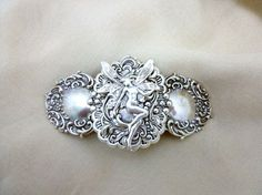 Beautiful Victorian Fairy  Barrette in Antiqued by skybluedesigns2, $22.00
