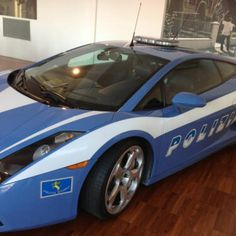 """No way you're out running this cop car (at the Lamborghini Museum and Factory)"" by @Matt Long"