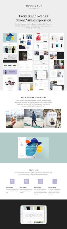 Monobrand UI Kit by Great Simple