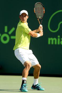 Kei Nishikori Photos: Miami Open Tennis - Day 11