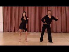 American Style Bronze Cha Cha Variations - Ballroom Dance DVD - YouTube