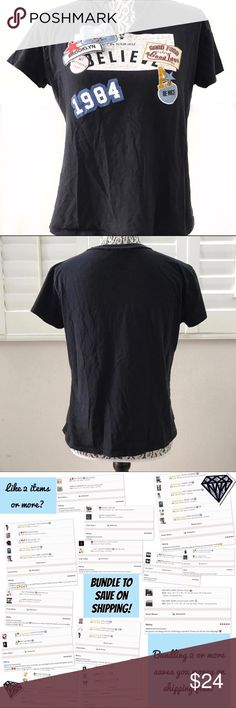 """ZARA road trip blue graphic tee shirt small Cute road trip inspired shirt.  Pit to pit 18.5"""" Sleeve 4.5"""" Shoulder 16"""" Length 21"""" Zara Tops Tees - Short Sleeve"""