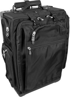 7e3d1a3ccf95 The rolling bag combines a contemporary and sleek style with extreme  durability.