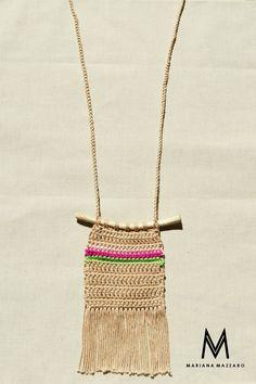 #colartaina | Mariana Mazzaro crochet