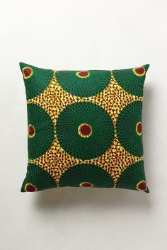 African print REKERO PILLOW,  LOVE this!!