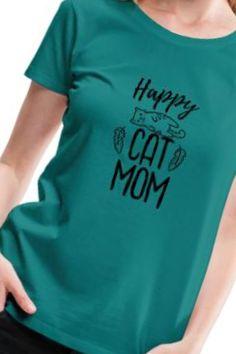 Bist du eine Happy Cat Mom? Auf jeden Fall bist du hier richtig! Klicke Jetzt auf den Link! und lasse dich von den Zahlreichen Katzen Design Inspirieren!  Hinter dem link verbergen sich viele Ideen und Artikel wie z.b. T-Shirts, Pulli, Tassen uvm. Neugierig? Viel Spaß beim Stöbern! Shirts & Tops, Shirt Diy, T Shirt, Mom, Cats, Link, Shopping, Cat Design, Cat T Shirt