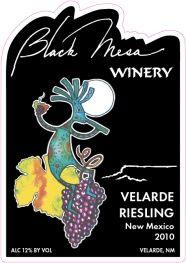 Black Mesa Winery Velarde Riesling Wine