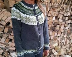 Bilderesultat for nancy kofte Fair Isle Knitting Patterns, Men Sweater, Blouse, Sweaters, Tops, Ideas, Fashion, Moda, Pullover