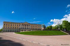 Oslo center, Norway King Palace www.BlackStudio.eu