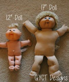Free Cabbage Patch Baby Doll Clothing Patterns from GYCT