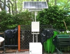 Solar Powered Cell Phone Charging Station