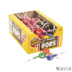 Tootsie Pops 100 pcs. Party Supplies Canada - Open A Party