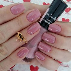 70 + Cute Simple Nail Designs 2017 - style you 7 Pink Nail Art, New Nail Art, Pink Nails, White Nails, Nail Designs 2017, Nail Art Designs, Nails Design, Cute Easy Nail Designs, Cute Simple Nails