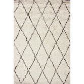 Found it at AllModern - Marbella Moroccan Shag Ivory Kilim Rug