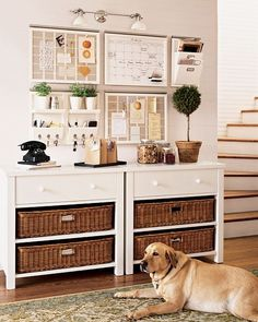 Home Organization: Kitchen Command Center. Pottery barn does it right. Entryway Organization, Home Organisation, Organization Hacks, Organized Entryway, Household Organization, Organization Ideas, Organization Station, Studio Organization, Office Storage