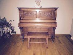 Kroeger upright piano, circa 1900. Gorgeous!!