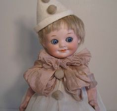 "Antique 10 1/2"" German Armand Marseille Googly Doll #323 ADORABLE!!"