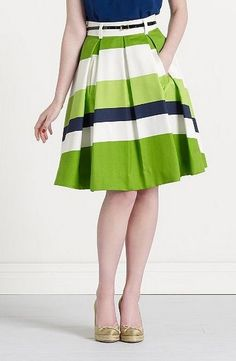 love the skirt... pair with a blazer for a perfect non-court day at the office outfit