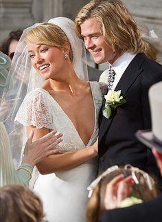 Olivia Wilde vestida de novia en una escena de la película Rush