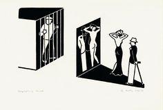 Bespiegelung by Gerd Arntz Sculptures For Sale, Artwork Images, Icon Design, Illustration, Original Artwork, Infographic, Abstract, Artist, Prints