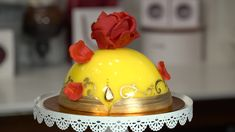 At Amorette's Patisserie in Disney Springs, every beautiful confection is truly a work of art. When a new cake design is introduced, it begins as a sketch. Then, the talented cake decorators bring that sketch to life – much like the enchanted