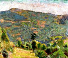 Pierre Bonnard - Landscape of Haute-Savoie, 1918
