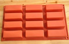 Cake Mold, Soap Mold 12-Rectangle Mold Silicone Mould For Candy Chocolate