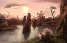 Skywind - Zafirbel Bay III by Verticae.deviantart.com on @DeviantArt