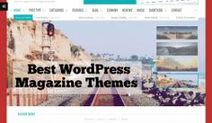 2465+ Magazine Wordpress Themes