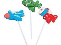 Aeroplane Lollypops | CRAZY Candies for any function - any size, anywhere.