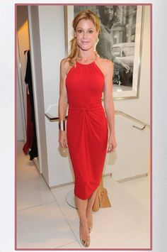 Buy it: Julie Bowen's Red Halter Dress