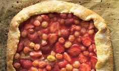 Gooseberry and strawberry rough-edged tart, plus other gooseberry recipes