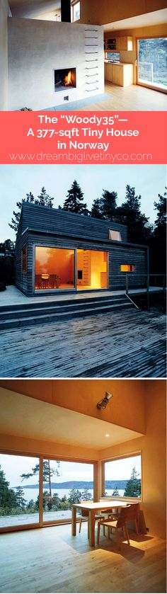 """The """"Woody35""""--A 377-sqft Tiny House in Norway"""