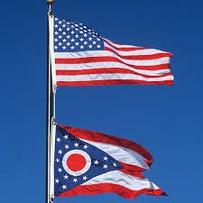 the ohio flag