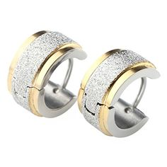 Zysta 2pcs 7MM Silver Gold Stainless Steel Hoop Huggie Earring Zysta http://www.amazon.com/dp/B014EQ9GPA/ref=cm_sw_r_pi_dp_OWKlwb0WSC4RK