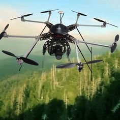 The Camera Bag: X88-J Octocopter is Drone of Your Dreams (or Nightmares?) for Shooting Awesome Aerials with Your DSLR