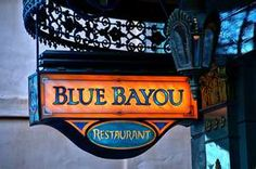 Blue Bayou is a full-service New Orleans/Cajun-style restaurant renowned for its unusual ambiance. Restaurants are located at Disneyland in Anaheim, California, Disneyland Paris and Tokyo Disneyland, in Chiba, Japan.[1]     Guests wishing to dine at the restaurant are advised to make reservations at least a day in advance. At Disneyland, particularly during the 4:00pm to 8:00pm dinner rush, reservations 1 week in advance are advisable.