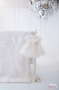 Sukienka z delikatnej koronki - idealna na chrzest www.sofija.com.pl  #sofija #ubranka #bawełna #dziecko #chrzest #moda #kidsfashion #baby #kindermode #cotton #sweet #cute #ребенок