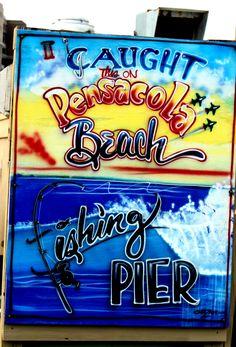 Pensacola , FL, on the pier.photography by Amanda Davis Gulf Coast Beaches, Florida Beaches, Beach Town, Beach Babe, Beach House, Vintage Florida, Old Florida, Fresco, Pensacola Beach Florida