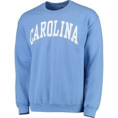 7f20b89ff Men's Fanatics Branded Carolina Blue North Carolina Tar Heels Basic Arch  Sweatshirt Blue Jordans, College