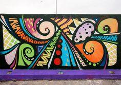 Explore Raul Garcia's photos on Photobucket. Murals Street Art, Street Art Banksy, Graffiti Wall Art, Mural Wall Art, Canvas Wall Art, Garden Mural, School Murals, School Painting, Urban Street Art
