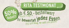 Rita bringts, vegetarischer Lieferservice