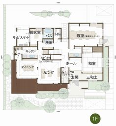 上越店|新潟県|住宅展示場案内(モデルハウス)|積水ハウス Craftsman Floor Plans, One Bed, Japanese House, House Plans, Flooring, How To Plan, Mansions, Luxury, Bath